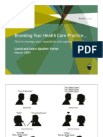 Branding Your Health Care Practice