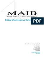 Bridge Watch Keeping Safety Study