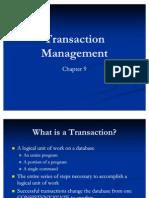 Transaction Management Chapter 9[1]