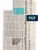 The Statesman-Oct 20, 2008_Sebi Mulls Stronger Action Against FIIs