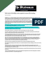 The Statesman_Oct 20, 2008_Sebi Mulls Stronger Action Against FIIs
