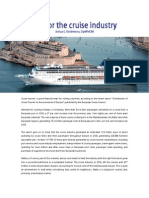 TLC for the Cruise Industry
