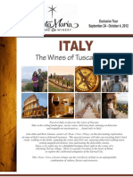 Santa Maria Wine Tour Brochure