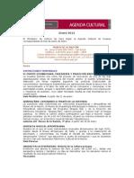 Agenda Cultural Museos Ministerio de Cultura del Perú -enero 2012