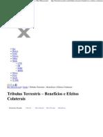Tribulus - Efeitos Colaterais