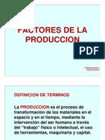 Factores de La Produccion Pp