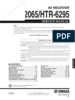 RXV2065_HTR6295 | Loudspeaker | Electronic Engineering on