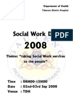 Poster Social Work Day