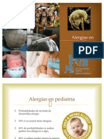 Alergias en pediatría