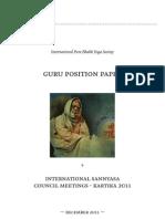 IPBYS Guru Position Paper Dec 2011
