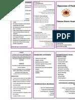 Pamphlet Social Work