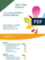 Coe Customer Supply Chain Manual