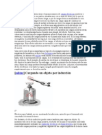 induccion electrostatica
