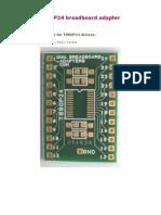 TSSOP24 adapter