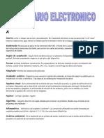 Oficial Diccionario de Electronic A