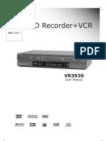 Go Video VR3930 User Manual