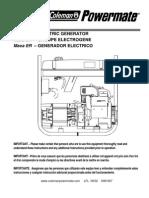 Coleman Powermate 5000 Generator Manual - Pm0525312.17