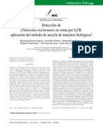 Chlamydia Trachomatis en Orina Por LCR