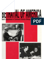 Funderburk - Betrayal of America - Bush's Appeasement of Communist Dictators Betrays American Principles (1991)