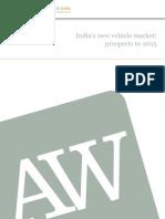 India New Vehicle Market Prospects to 2015