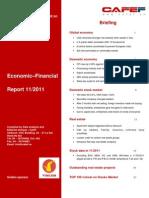 Economic&Financial Report Nov 2011 CafeF