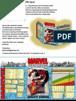 Marvel Judges Screen