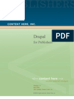 Drupal for Publishers