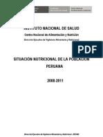 SITUACIONNUTRICIONALPERU 2008-2011