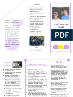 Social and Emotional Needs Brochure