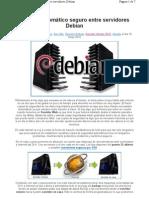 Backup Automatico Seguro Entre Servidores Debian