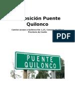 Reposición Puente Quilonco