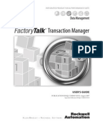 Factory Talk Transaction Manager 2007 User Guide