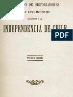 Colección de historiadores i documentos relativos a la Independencia de Chile. T.XIX. 1911