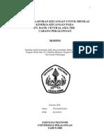 Analisis Laporan Keuangan Untuk Menilai Kinerja Keuangan Pada PT Bank Central Asia Tbk Cabang Pekalongan