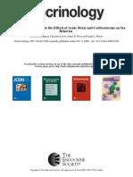 Emma Coddington et al- Endocannabinoids Mediate the Effects of Acute Stress and Corticosterone on Sex Behavior