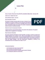 Lesson Plan of English by Vijay Heer.1
