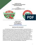 2012 USLMRA Rule Book