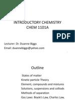 Chem1101A Lect 1