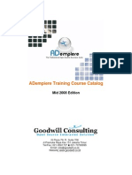 Adempiere Training
