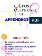 27865169 Pre Post Operative Care of Appendicectomy