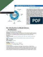 OMG Model Driven Architecture