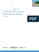 VMware View PCoIP Zero Client Optimization Guide TN En