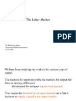 Principles of Microeconomics - Labor Market
