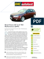 Seat Exeo ST 2 0 TDI Reference DPF