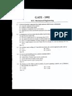 GATE 1992
