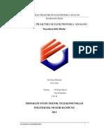 Laporan Praktikum Elka 1 - Karakteristik Dioda