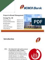projectinbrandmanagement-icicibank-100121034248-phpapp01