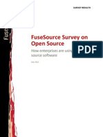 Fuse Source Open Source Enterprise Survey