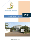 National Bank of Rwanda Quarterly Bulletin Third Quarter 2011