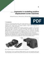 Developments in Modelling Positive Displacement Screw Machines